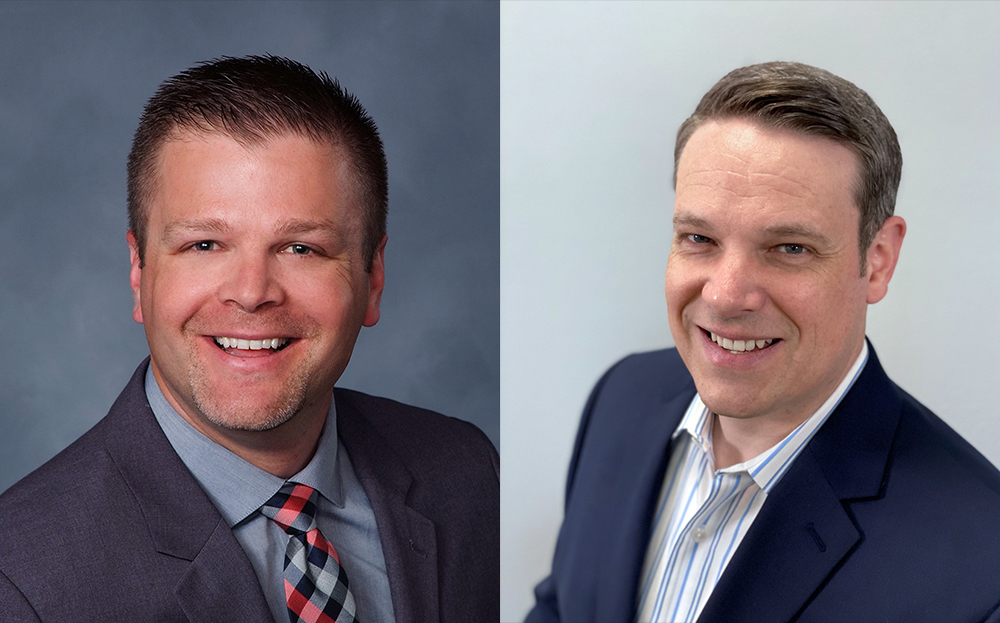 Side-by-side professional headshots of Mitch Frydrych (left) and Zac Avery (right)